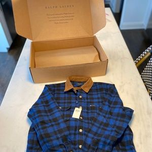 Polo Ralph Lauren Classic Fit plaid Workshirt- L